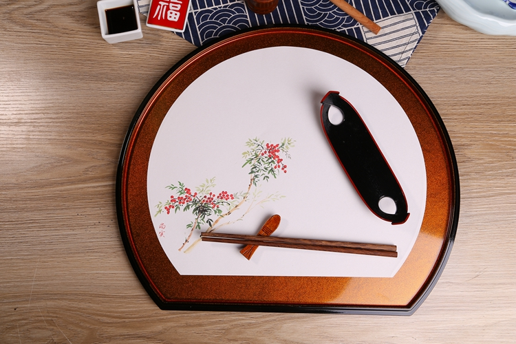 日本四季敷纸 料理餐垫 餐厅纸垫