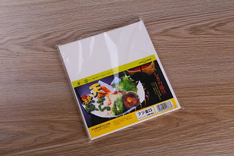 天妇罗纸 吸油纸 敷纸 料理用纸