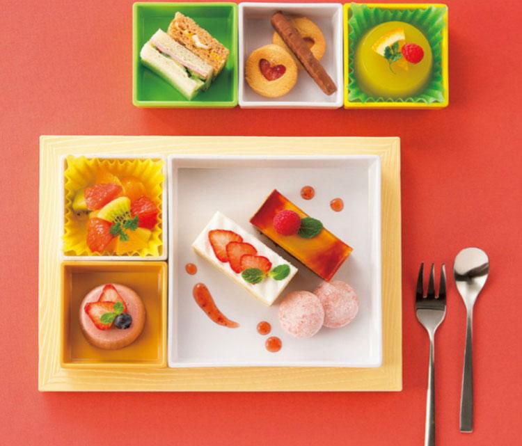 分格格定食 商务套餐自由组合 甜食套餐